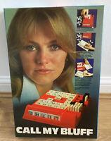 Vintage Mind Call My Bluff Board Game 1970's Word Skills