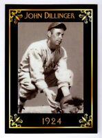 John Dillinger Martinsville Athletics & bank robber MC Heritage serial # /50