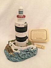 Harbour Lights 198 Hook Head, Ireland Lighthouse Coa Box 1997