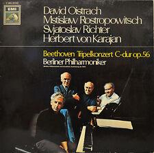 """HERBERT VON KARAJAN - BEETHOVEN TRIPELKONZERT C-DUR OP. 56   12""""   LP (N881)"""