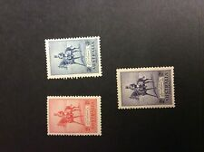 1935 Australia Silver Jubilee set of 3 stamps