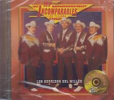 CD - Los Incomparables De Tijuana NEW Los Corridos Del Millon FAST SHIPPING !