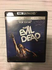 The Evil Dead (4K Ultra Hd + Blu-ray, 1981) - Sam Raimi - No Digital