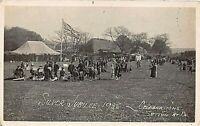 POSTCARD   KENT  SOCIAL HISTORY  SUTTON - BY - DOVER  SILVER JUBILEE 1935  RP