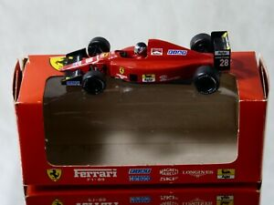 ONYX Ferrari F1 87-88C Alboreto #27 en boite