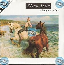 ELTON JOHN SIMPLE LIFE france french CD SINGLE card sleeve NEW NEU NEUF
