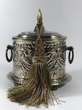 Zuckerdose marokkanisch orientalisch  Minzbehälter Antik Unikat Handmade Lala 25