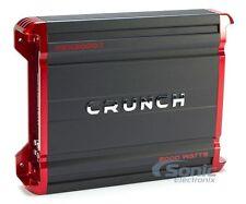 Crunch PZX2000.1 2000W Monoblock Powerzone Series Class D Car Power Amplifier