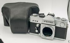AS-IS For Display - Petri FTX 35mm Film SLR Camera M42 Lens Mount Body Only