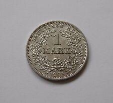 KAISERREICH: 1 Mark 1909 D, J. 17, fast stempelglanz !!!