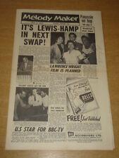 MELODY MAKER 1956 JULY 7 VIC LEWIS LIONEL HAMPTON TIN PAN ALLEY JAZZ SWING +