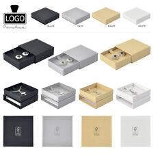 Eco-friendly FSC Earrings-Pendant-Necklace Boxes (4 Sizes) Large Letter Friendly