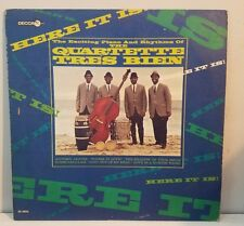 The Quartette Tres Bien - LP - Here It Is! Decca 4893 VG - Mod Jazz - Promo Copy