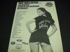SALSOUL 1978 Promo Poster Ad CLAUDJA BARRY Lipstique GARY CRISS Gotham CHARO etc