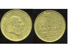 URUGUAY  1  peso 1998  ( bis )