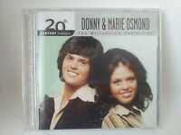 20th Century Masters Best of DONNY & MARIE OSMOND Millennium Collection 2002 CD