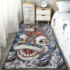 Lion Dance Carpet Floor Chair Dining Living Room Mat Home Non-slip Area Rugs