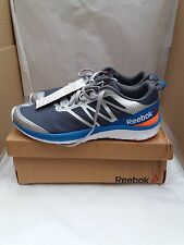 Reebok Soquick V68057 Grey/Alloy/Peach/Blue - Size UK 7.5/EU 41