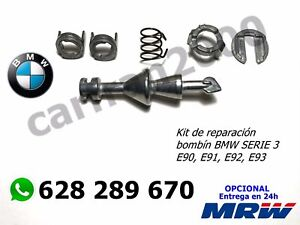 KIT REPARACIÓN BOMBÍN CERRADURA PUERTA PARA BMW E90 E91 E92 E93 BOMBIN CIERRE