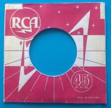 Ten Replicas Of An Original Used RCA Label, Company Record Sleeve, Pack Of 10