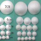 10PCS 10-120mm Modelling Polystyrene Styrofoam Foam Ball