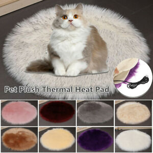 Pet Dog Electric Pad Heated Blanket Mat Cat Bunny Heating Cushion Winter War