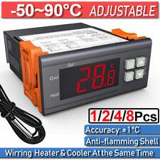 Digital Thermostat Temperaturregler 110-220V STC-1000 Temperaturschalter -50~90℃