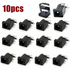 10pcs DC-005 Power Supply Jack Socket Female PCB Mount Connector 5.5mm x 2.1mm