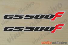 PEGATINA STICKER VINILO Suzuki GS500F moto autocollant aufkleber adesivi