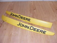 John Deere X300 Garden Lawn Mower Tractor Hood Side Vent Name Plates (220-24