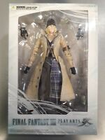 Square Enix Play Arts Kai Final Fantasy XIII Snow Villiers (BRAND NEW & SEALED)