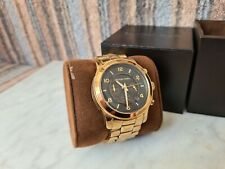 Michael Kors Mens Gold Watch MK5795