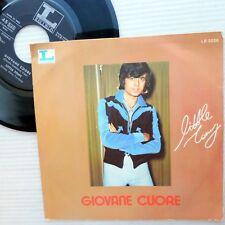 LITTLE TONY Italy POP chanson PS 45 vg++ GIOVANE CUORE / IERI SENZA TE c1034