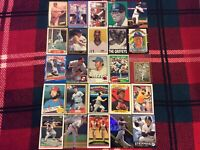 HALL OF FAME Baseball Card Lot 1973-2015 KEN GRIFFEY JR. REGGIE JACKSON SCHMIDT+