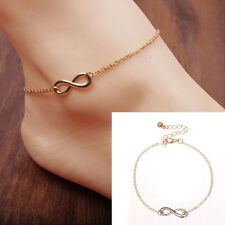 Women's Gold Chain Ankle Anklet Bracelet Barefoot Sandal Beach Foot Jewelry