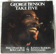 George Benson Take Five - w Phil Upchurch, Ron Carter, Steve Gadd LP NM/VG CTI