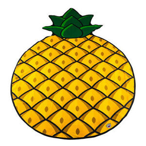 PINEAPPLE BigMouth Affordable High Quality 5ft Soft Gigantic Beach Blanket