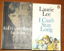 Laurie Lee Cider With Rosie & I Can't Stay Long 2 Penguin Paperbacks