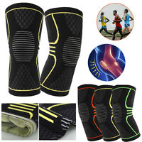 1pcs Knee Sleeve Compression Brace Support For Sport Joint Pain Arthritis Relief