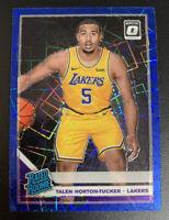 TALEN HORTON TUCKER Optic BLUE VELOCITY Holo Foil Prizm ROOKIE Lakers PSA 9/10?