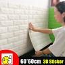 3D Tile Brick Wall Sticker Self-adhesive Waterproof Foam Panel Sticker 60*60cm
