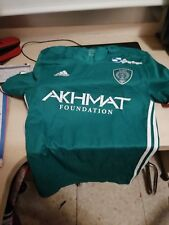 TEREK GROZNI Match WORN ISSUE FOOTBALL SHIRT JERSEY #40 UTSIYEV