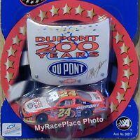 #24 Jeff Gordon 1/64 NASCAR Diecast Car *DUPONT 200 YEAR ANNIVERSARY HOOD SERIES
