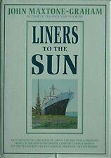 CRUISE SHIPS PAST & PRESENT, 1985 **SIGNED BOOK (ROTTERDAM CVR, QUEEN ELIZABETH+