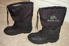 Arctic Cat Winter Snow Snowmobile Boots Youth Size 3