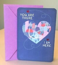 Hallmark Friendship Miss You Greeting Card w/Envelope ~ New/Unused