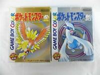 "NINTENDO GAME BOY COLOR "" POCKET MONSTERS GOLD SILVER KIN GIN "" POKEMON BOXED"