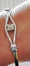 14ct Stunning diamond bangle