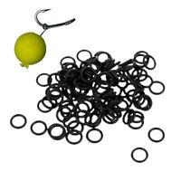 100pcs/lot Carp Fishing Round Rig Rings Terminal Tackle Quick Change O Rings