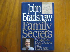 "JOHN  BRADSHAW   Signed  Book (""FAMILY  SECRETS""- 1995  First  Edition Hardback)"